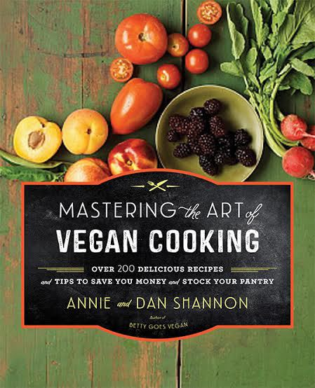Giveaway: Mastering The Art of Vegan Cooking