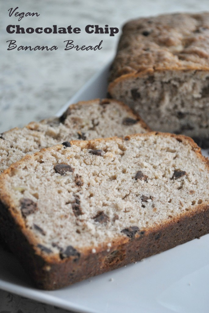 Chocolate Chip Banana Bread | www.thatwasvegan.com