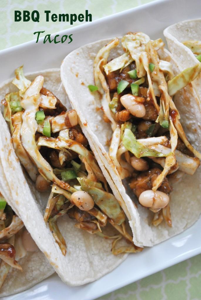 BBQ Tempeh Tacos | www.thatwasvegan.com