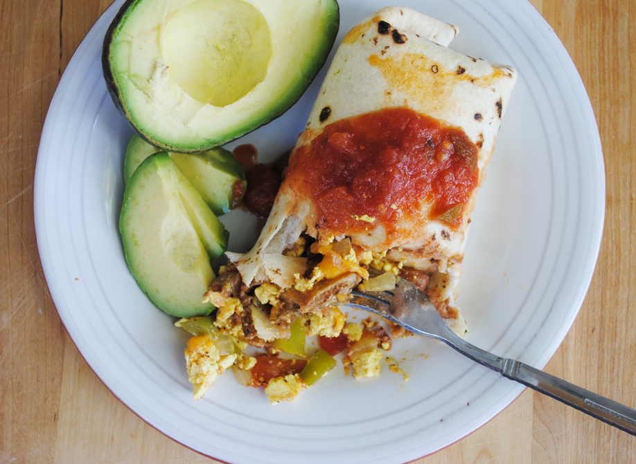 Breakfast Chimichangas | www.thatwasvegan.com