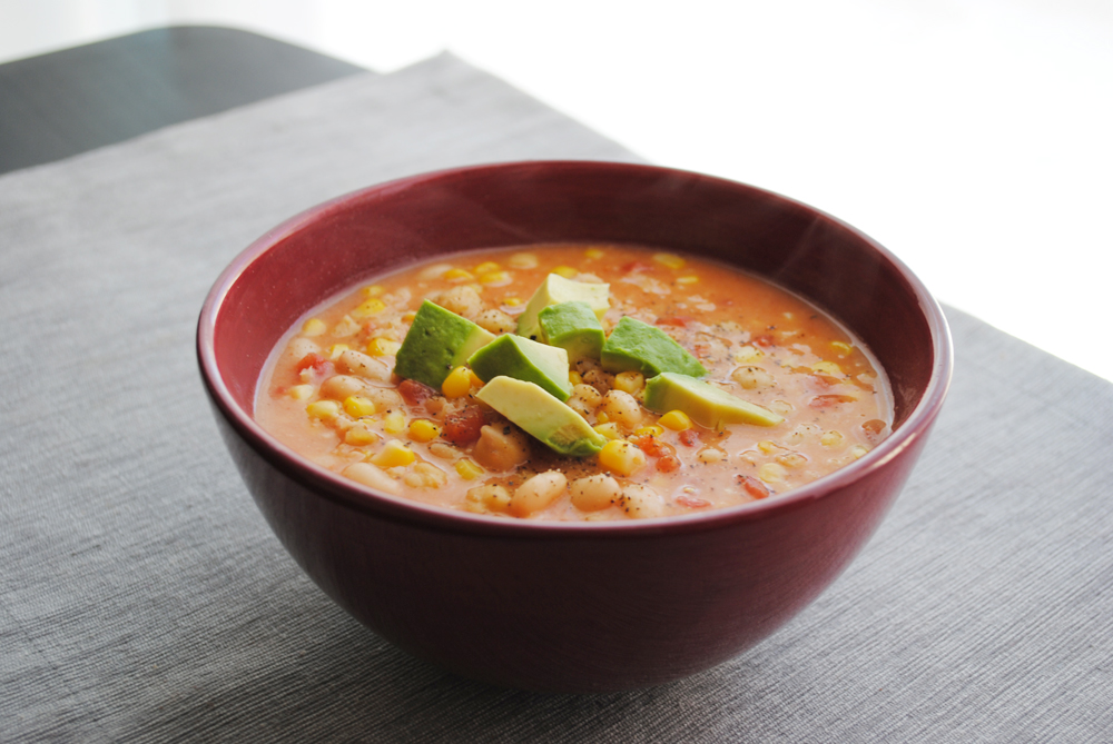 Coconut White Bean Soup | www.thatwasvegan.com