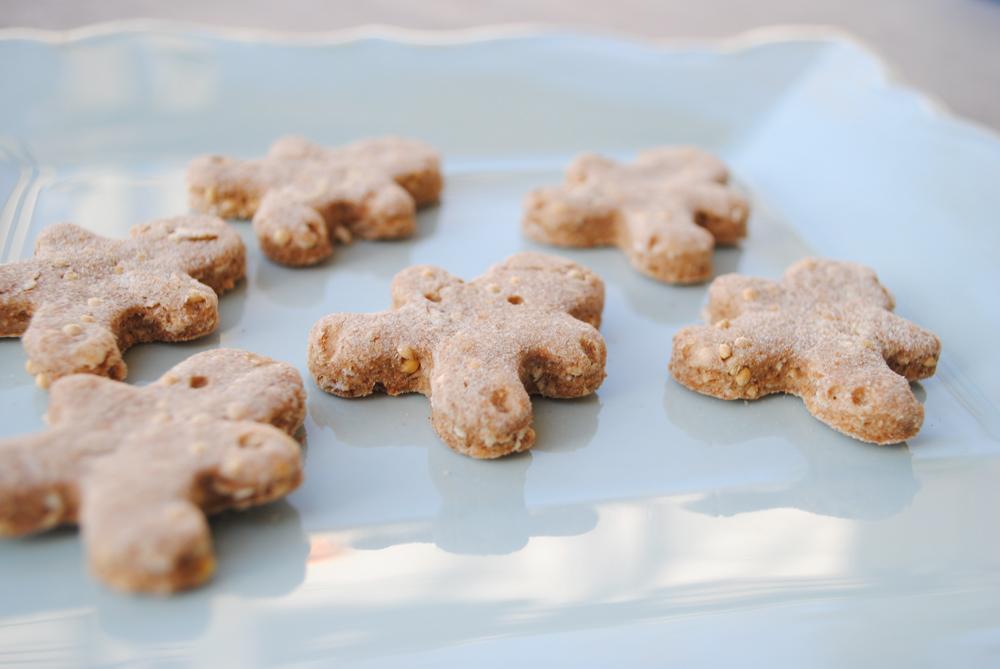 Peanut Butter Coconut Dog Treats | www.thatwasvegan.com