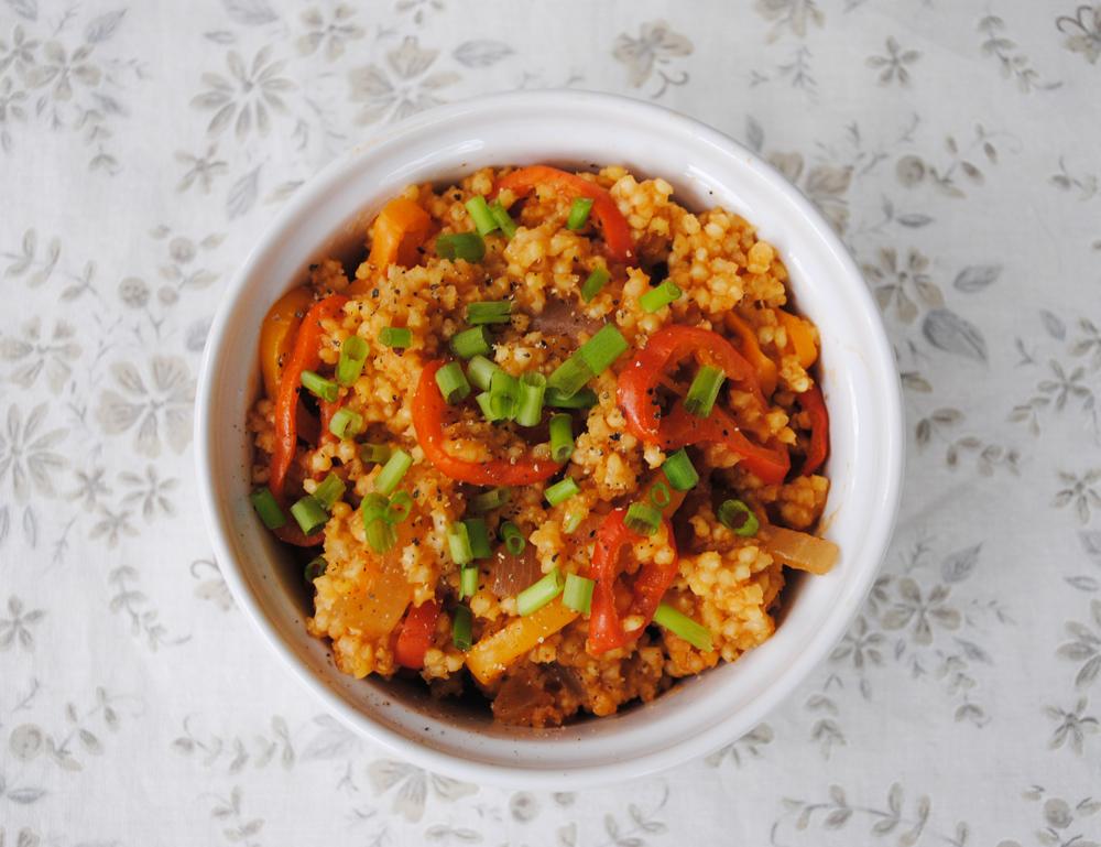 Spicy Fajita Millet