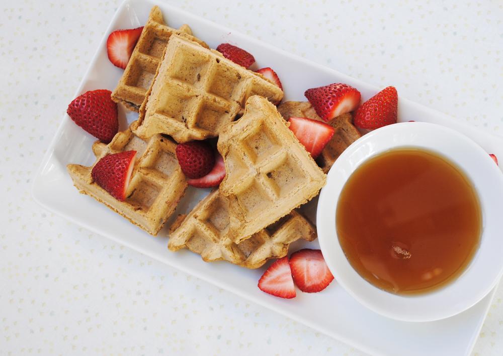 Sunwarrior Vanilla Bean Protein Waffles