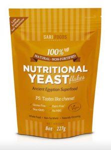 Sari Nutritional Yeast Giveaway | www.thatwasvegan.com