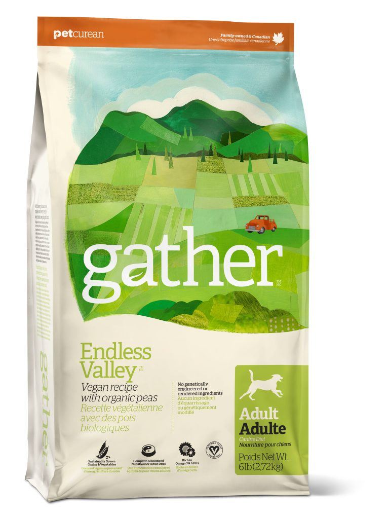 Gather: Organic, vegan pet food