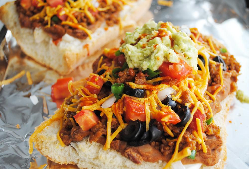Vegan Nacho French Bread | www.thatwasvegan.com