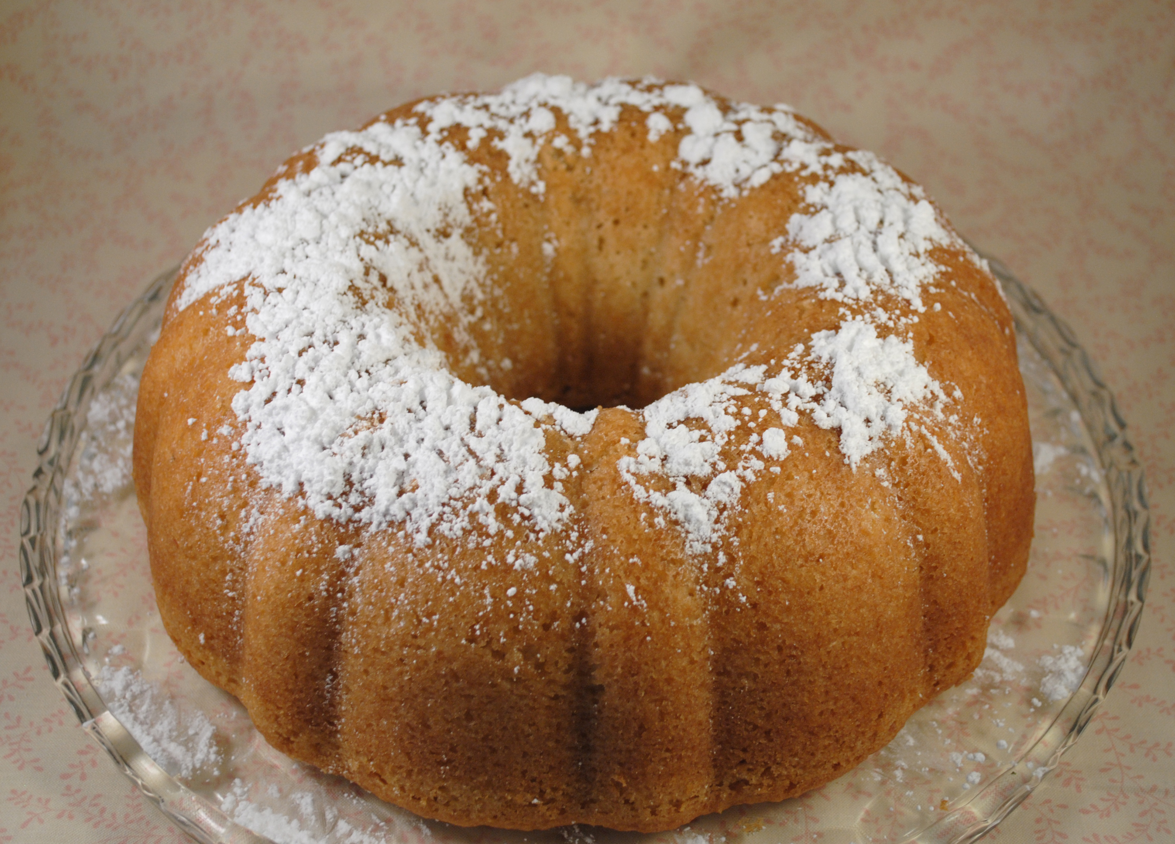 Coconut Lemon Bundt Cake